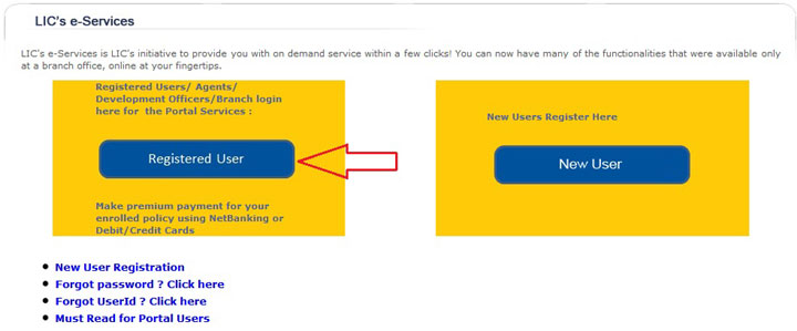 check lic policy status online and know next premium due